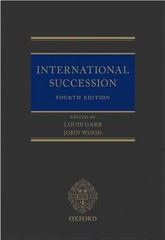 International Succession 4th Edition 9780198727262 0198727267