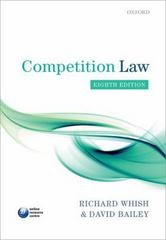 Competition Law 8th Edition 9780199660377 0199660379