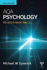 AQA Psychology 6th Edition 9781138902091 1138902098