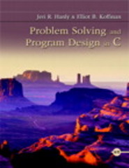 Problem Solving and Program Design in C 8th Edition 9780134014890 0134014898
