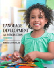 Language Development 9th Edition 9780134092744 0134092740