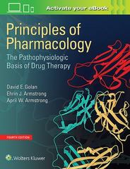 Principles of Pharmacology 4th Edition 9781451191004 1451191006