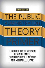 The Public Administration Theory Primer 3rd Edition 9780813349664 0813349664