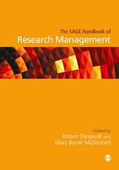 The SAGE Handbook of Research Management 1st Edition 9781446203187 1446203182