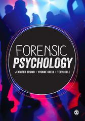Forensic Psychology 1st Edition 9781473911949 147391194X