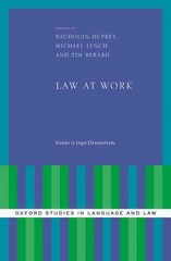 Law at Work 1st Edition 9780190210250 0190210257