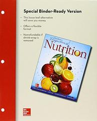 Loose Leaf for Wardlaw's Perspectives in Nutrition 10th Edition 9781259295133 1259295133