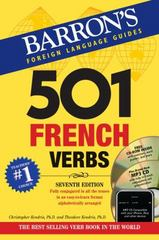 501 French Verbs 7th Edition 9781438075204 1438075200