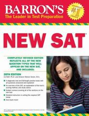 Barron's New SAT 28th Edition 9781438006499 1438006497