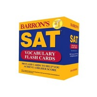 Barron's SAT Vocabulary Flash Cards 2nd Edition 9780764167546 0764167545