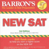 New Sat 3rd Edition 9780764167782 0764167782