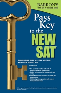 Pass Key to the New SAT 10th Edition 9781438006482 1438006489