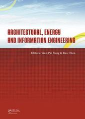 Architectural, Energy and Information Engineering 1st Edition 9781138027916 113802791X
