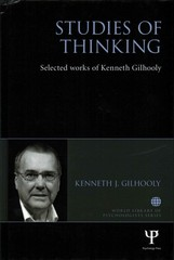 Studies of Thinking 1st Edition 9781138848870 1138848875