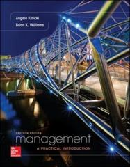 Loose-Leaf for Management 7th Edition 9780077720551 0077720555