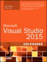 Microsoft Visual Studio 2015 Unleashed 3rd Edition 9780672337369 0672337363