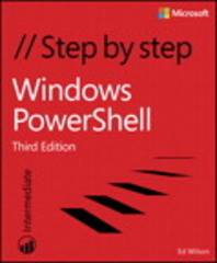 Windows PowerShell Step by Step 3rd Edition 9780735675117 0735675112