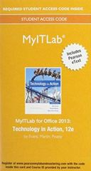 MyITLab with Pearson eText -- Access Card -- for Technology in Action 12th Edition 9780134150116 0134150112