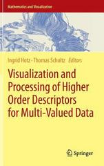 Visualization and Processing of Higher Order Descriptors for Multi-Valued Data 1st Edition 9783319150901 3319150901