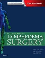 Principles and Practice of Lymphedema Surgery 1st Edition 9780323298971 0323298974