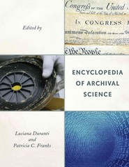 Encyclopedia of Archival Science 1st Edition 9780810888104 0810888106