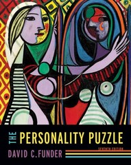 The Personality Puzzle 7th Edition 9780393288032 039328803X