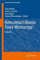 Noncontact Atomic Force Microscopy 1st Edition 9783319155876 3319155873