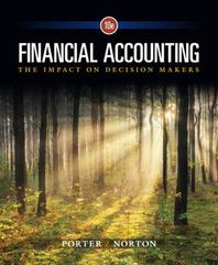 Financial Accounting 10th Edition 9781305654174 130565417X