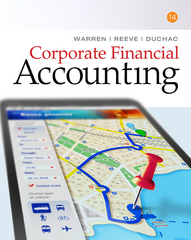 Corporate Financial Accounting 14th Edition 9781305653535 130565353X