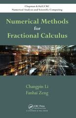 Numerical Methods for Fractional Calculus 1st Edition 9781482253801 1482253801