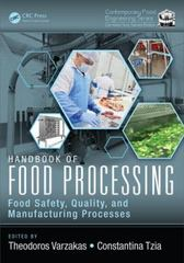 Handbook of Food Processing 1st Edition 9781498721776 149872177X