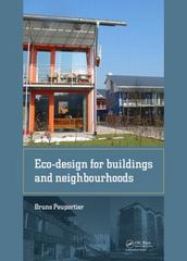 Eco-design for Buildings and Neighbourhoods 1st Edition 9781138027954 1138027952