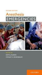 Anesthesia Emergencies 2nd Edition 9780199377275 0199377278