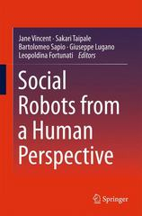 Social Robots from a Human Perspective 1st Edition 9783319156729 3319156721