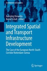 Integrated Spatial and Transport Infrastructure Development 1st Edition 9783319157078 3319157078