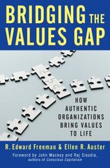 Bridging the Values Gap 1st Edition 9781609949570 1609949579
