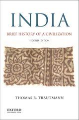 India: Brief History of a Civilization 2nd Edition 9780190202507 0190202505