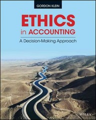 Ethics in Accounting 1st Edition 9781118939031 1118939034