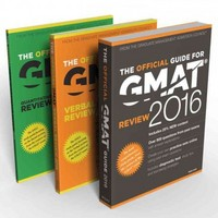 GMAT 2016 Official Guide Bundle 1st Edition 9781119101819 1119101816
