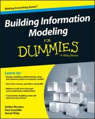 Building Information Modeling For Dummies 1st Edition 9781119060055 1119060052