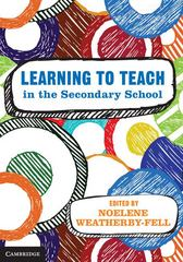 Learning to Teach in the Secondary School 1st Edition 9781107461802 1107461804