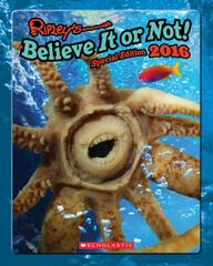 Ripley's Believe It or Not 2016 1st Edition 9780545852791 054585279X