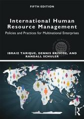 International Human Resource Management 5th Edition 9780415710534 0415710537