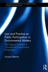 Law and Practice on Public Participation in Environmental Matters 1st Edition 9781317524441 1317524446