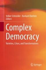 Complex Democracy 1st Edition 9783319158495 331915849X