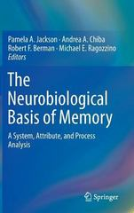 The Neurobiological Basis of Memory 1st Edition 9783319157580 3319157582
