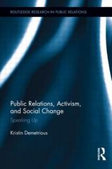 Public Relations, Activism, and Social Change 1st Edition 9781138921863 1138921866