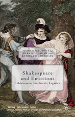 Shakespeare and Emotions 1st Edition 9781137464743 1137464747