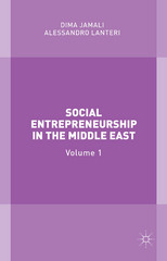 Social Entrepreneurship in the Middle East 1st Edition 9781137395344 1137395346