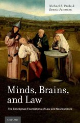 Minds, Brains, and Law 1st Edition 9780190253103 019025310X
